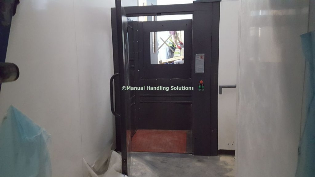 Goods Lift installed in a Deli