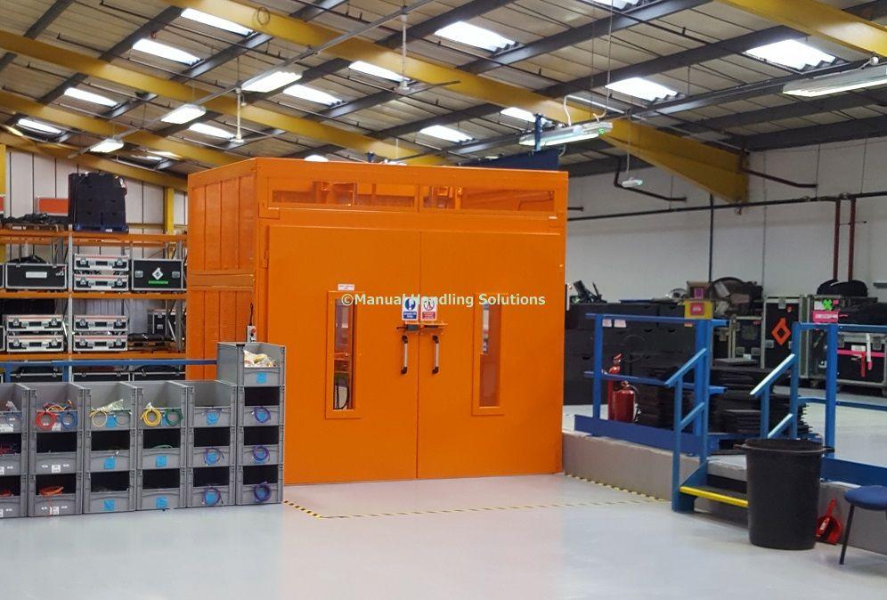 Mezzanine Goods Lift Tring Hertfordshire