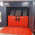 Mezzanine Goods Lift Tyres