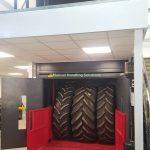 Mezzanine Tyre Lift